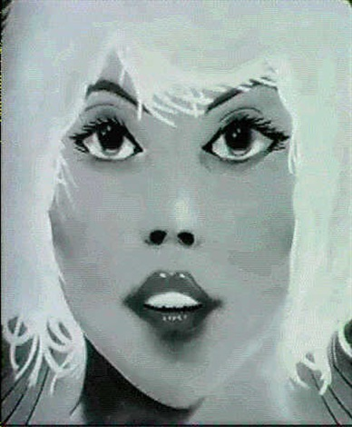 debbie harry by lee quinones