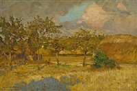 landscape, france by rupert bunny