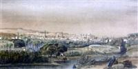 vue panoramique du caire by jules (joseph augustin) laurens