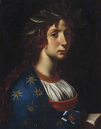 an allegory of poetry by carlo dolci