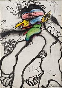 der fliegenesser by arnulf rainer