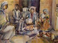 the evening meal by durant basi sihlali