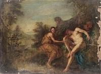 iris sent to wake morpheus by francois le moyne