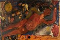 reclining nude by vassilis sperantzas