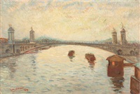 pont alexandre iii by henri visconte
