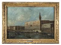veduta del palazzo ducale di venezia by italian school-venetian (19)