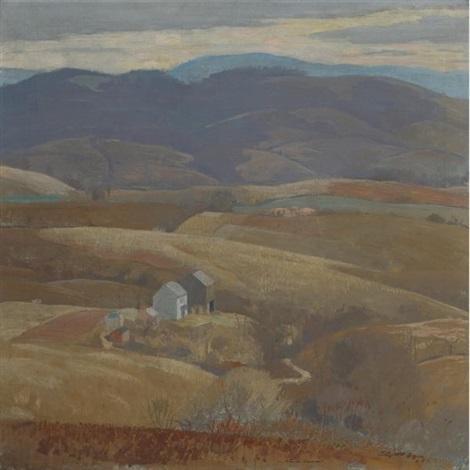 lone farm by daniel garber