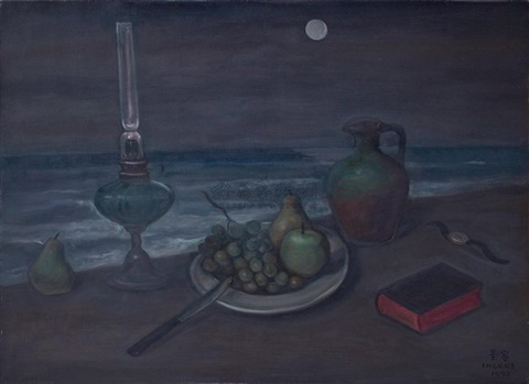 seashore still life by chen ching jung