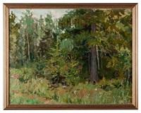 в лесу by iraida sokolova