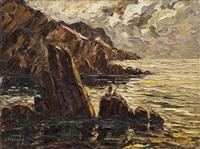 les falaises de cassis by joseph marius hurard
