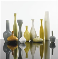 collection of eleven vases (set of 11) by carl-harry stålhane