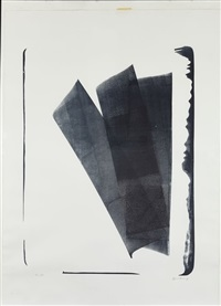 abstraction en noir by hans hartung