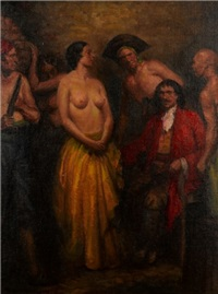 untitled (pirates) by raymond lindsay