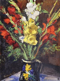 flowers in a pot by istván boldizsár
