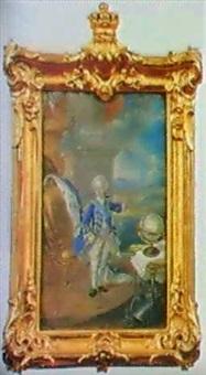 portratt av gustav iii som barn by niclas lafrensen the elder