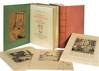les liaisons dangereuses (3 vols. w/6 works) by sylvain sauvage