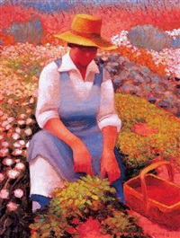 strawberry patch by gary ernest smith