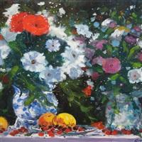 les deux vases by georges yoldjoglou