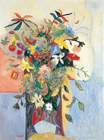 bouquet of flowers by nili milikowsky