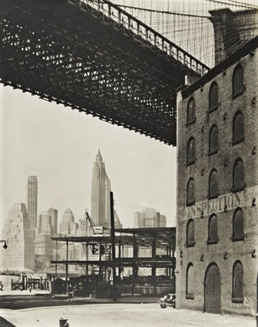brooklyn bridge by berenice abbott