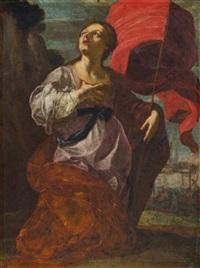 saint ursula by giovanni lanfranco