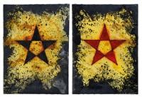 la stella dell'undici (recto-verso) by gilberto zorio