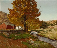 october in the litchfield hills by ben foster