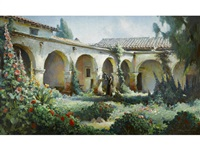 mission san juan capistrano by charles percy austin