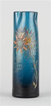 vase à col trilobé by émile gallé