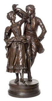 couple dansant by henri honoré plé