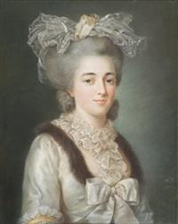 portrait de femme by adélaïde labille-guiard