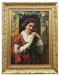 an adherent of the stuart by daniel maclise