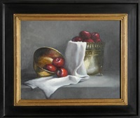 apple still life by garibaldi