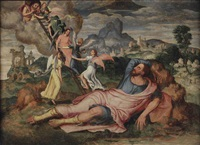 jacob's dream by maerten jacobsz van heemskerck