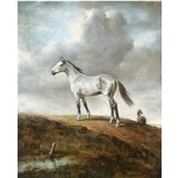 the grey horse by raoul millais