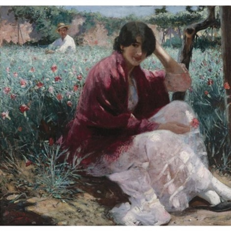 the garden by ralph wormeley curtis