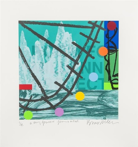 another red herring and untitled (2 works) (3 works) by bruce mclean