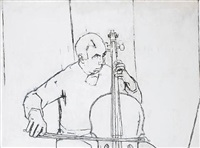 portrait of patrick symons by euan uglow