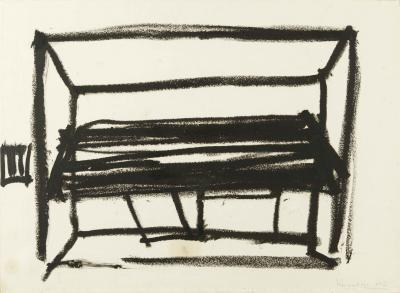 senza titolo chaumont by jannis kounellis