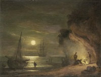 smugglers by thomas luny