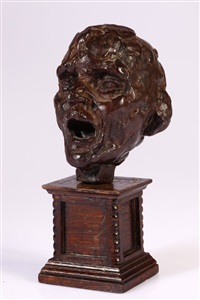 vieil aveugle chantant by camille claudel