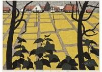 harvest season in aizu (8) by kiyoshi saito