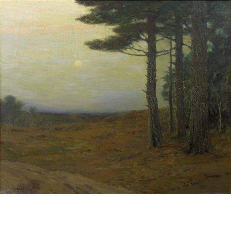 the heart of new england by charles warren eaton