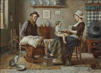 familienidylle by edmund adler