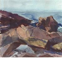 coastal rocks by john whorf
