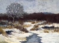 winterlandschaft by friedrich wachenhusen