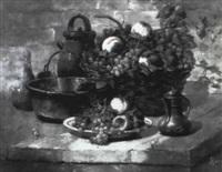 nature morte aux raisins by paul remy