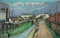 le long du canal by alphonse léon quizet