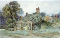 a country cottage by herbert j. bateman