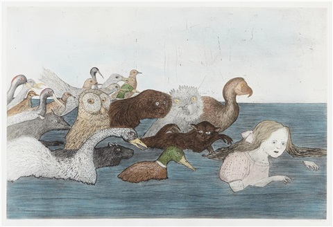 pool of tears ii by kiki smith